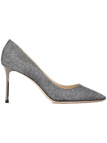 JIMMY CHOO LAME GLITTER PUMPS