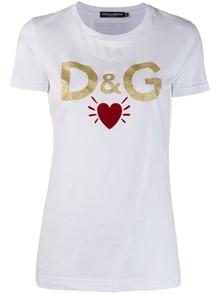DOLCE & GABBANA T-SHIRT HEART