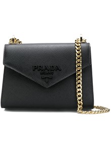 PRADA LOGO CHAIN BAG