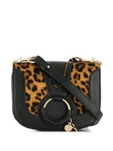 SEE BY CHLOE` ANIMAL PRINT CROSS BODY BAG