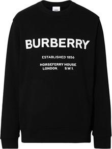 BURBERRY LONDON ENGLAND LOGO SWEATER