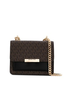 MICHAEL KORS MK PRINTED SHOULDER BAG