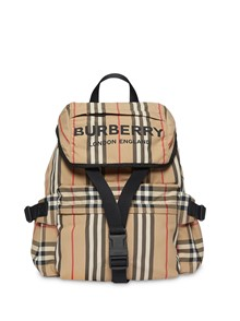 BURBERRY LONDON ENGLAND LOGO BACKPACK