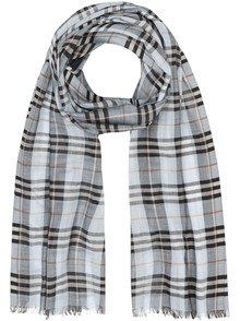 BURBERRY LONDON ENGLAND CHECK MOTIF SCARF