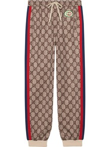 GUCCI GG PRINT TROUSERS