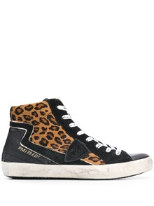 PHILIPPE MODEL PARIS HIGH TOP SNEAKERS