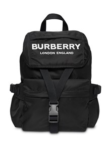 BURBERRY LONDON ENGLAND LOGO BACKPACK