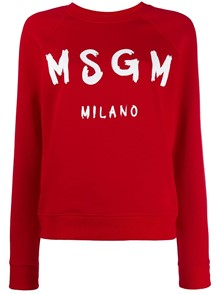 MSGM LOGO SWEATER