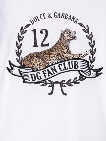 DOLCE & GABBANA KIDS T-SHIRT 8/12Y