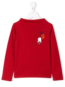 DOLCE & GABBANA KIDS LONG SLEEVE T-SHIRT
