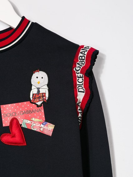DOLCE & GABBANA KIDS DRESS 8/12Y