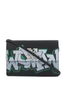 OFF-WHITE GRAFFITI SATCHEL BAG