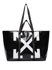 OFF-WHITE LOGO TOTE BAG
