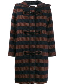 SEE BY CHLOE` STRIPED COAT