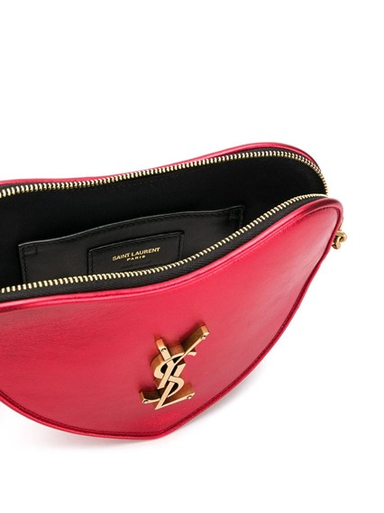 SAINT LAURENT HEART CROSS BODY BAG