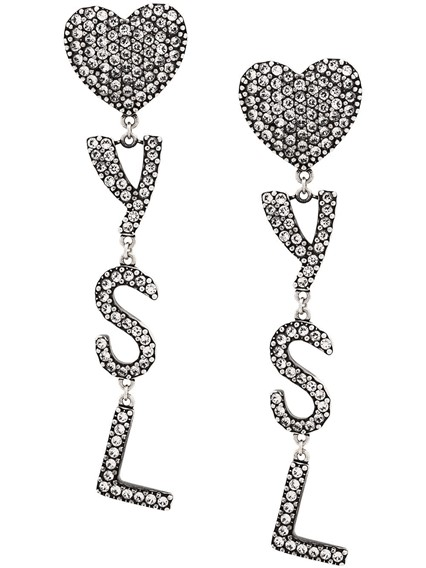SAINT LAURENT YSL EARRINGS