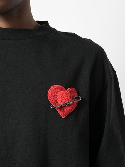 PALM ANGELS HEART SWEATER