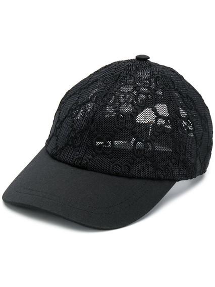 GUCCI LACE BASEBALL CAP