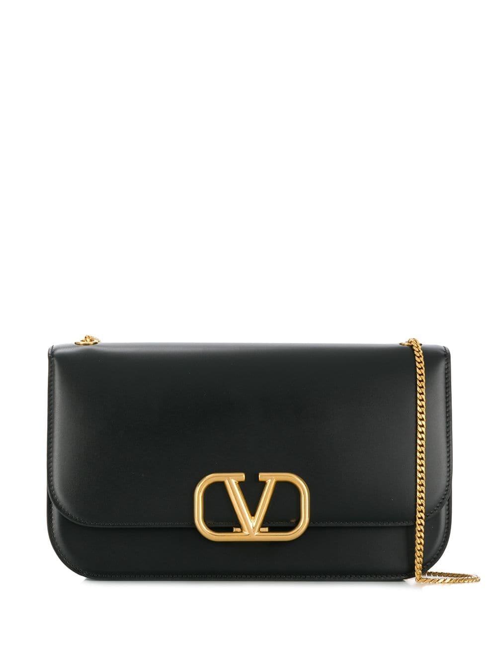 Valentino Garavani V Logo Shoulder Bag