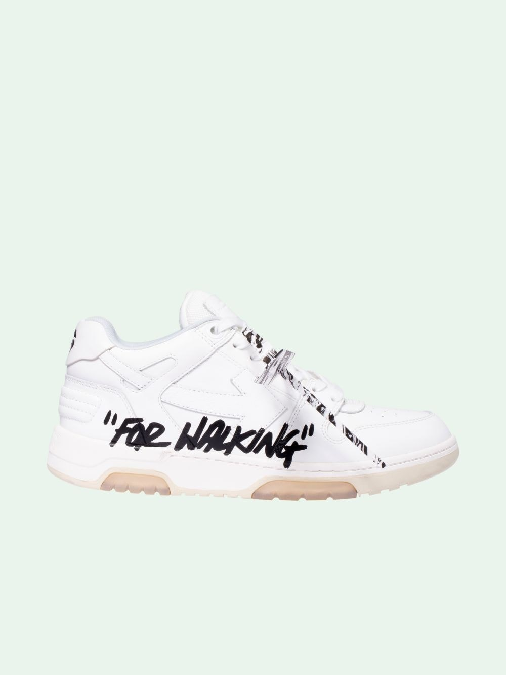 Off-White Leathers LOGO SNEAKERS