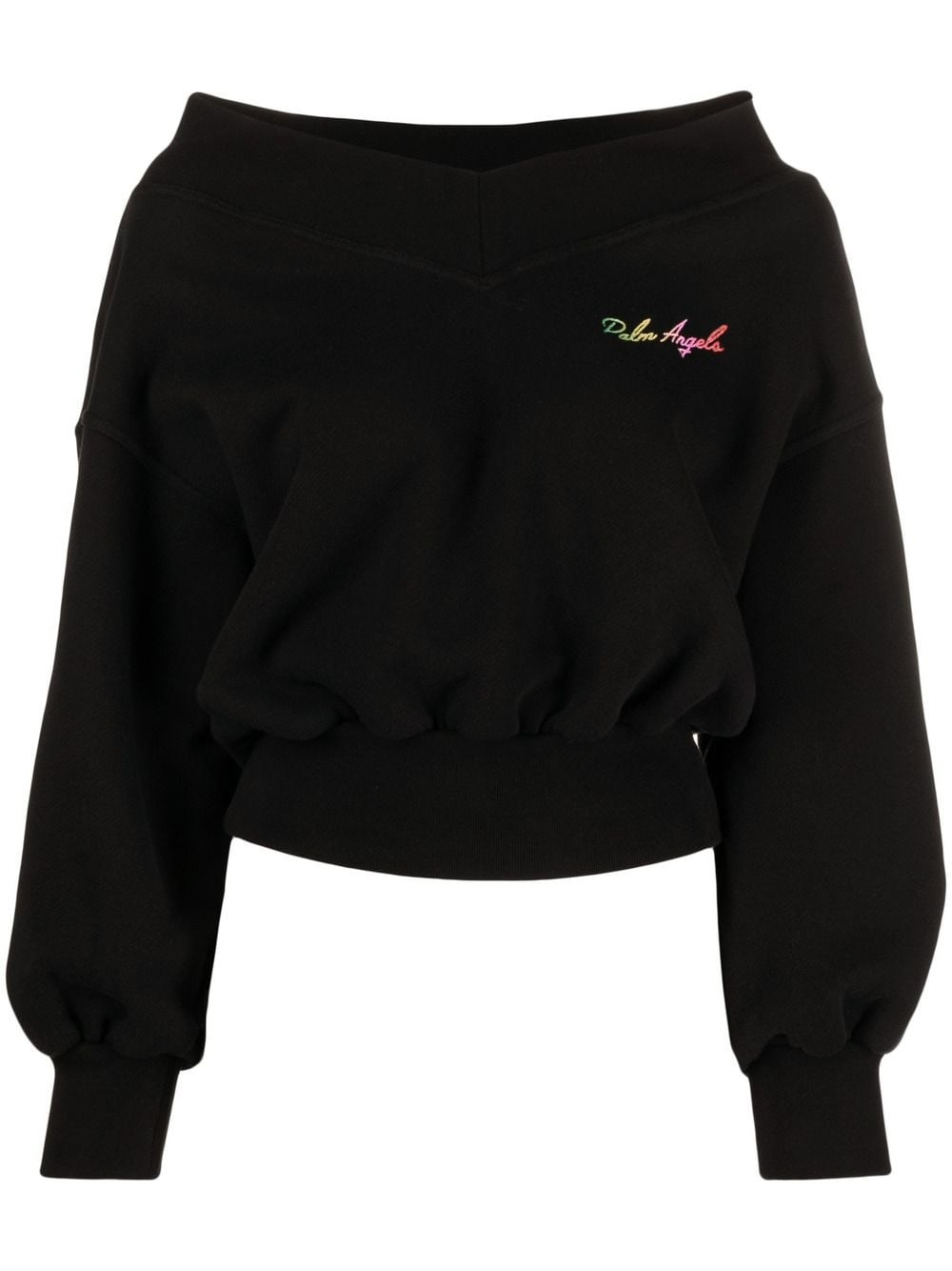 Palm Angels Cottons LOGO MIAMI SWEATER