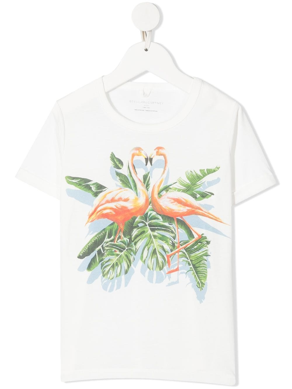Stella Mccartney Cottons T-SHIRT FLAMINGO
