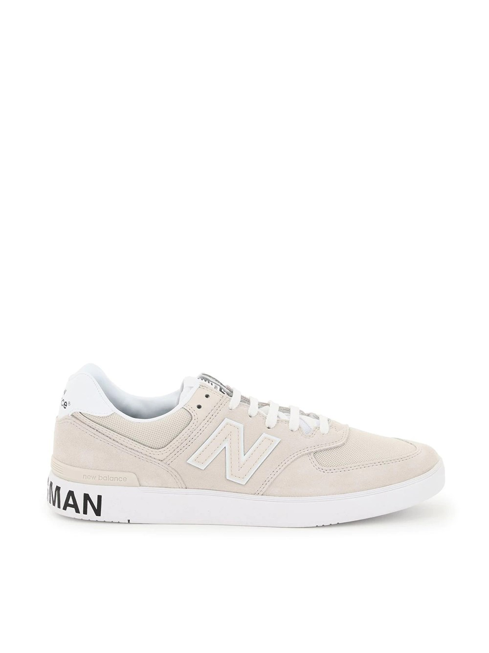 Junya Watanabe Comme Dg New Balance Am574 Sneakers In Nude & Neutrals