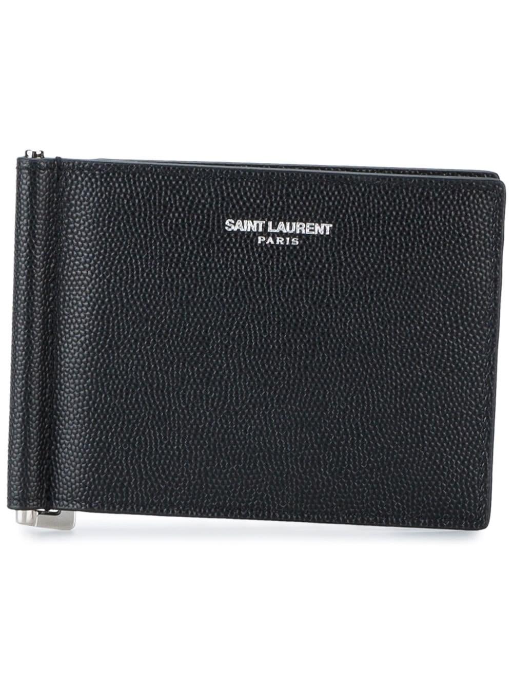 Saint Laurent Wallet In Black