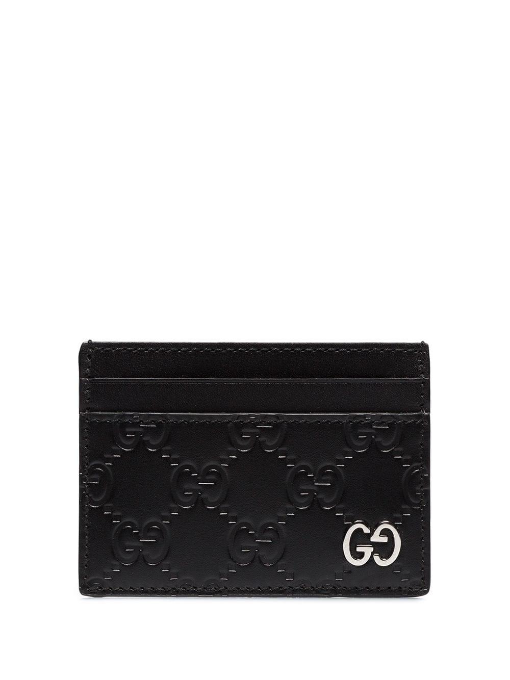 Gucci Card Holder In Black